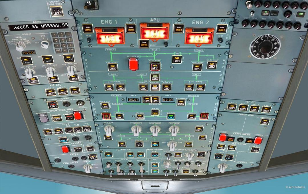 FlightDeck Simulator A32x by airlinetools - FlightDeck A32x - Home