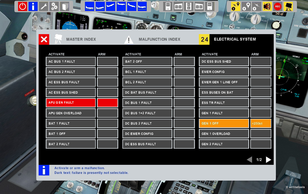 fmgs free-play trainer for airbus a320  games